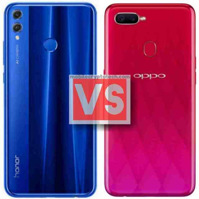 Huawei Honor 8X Vs Oppo F9 Pro