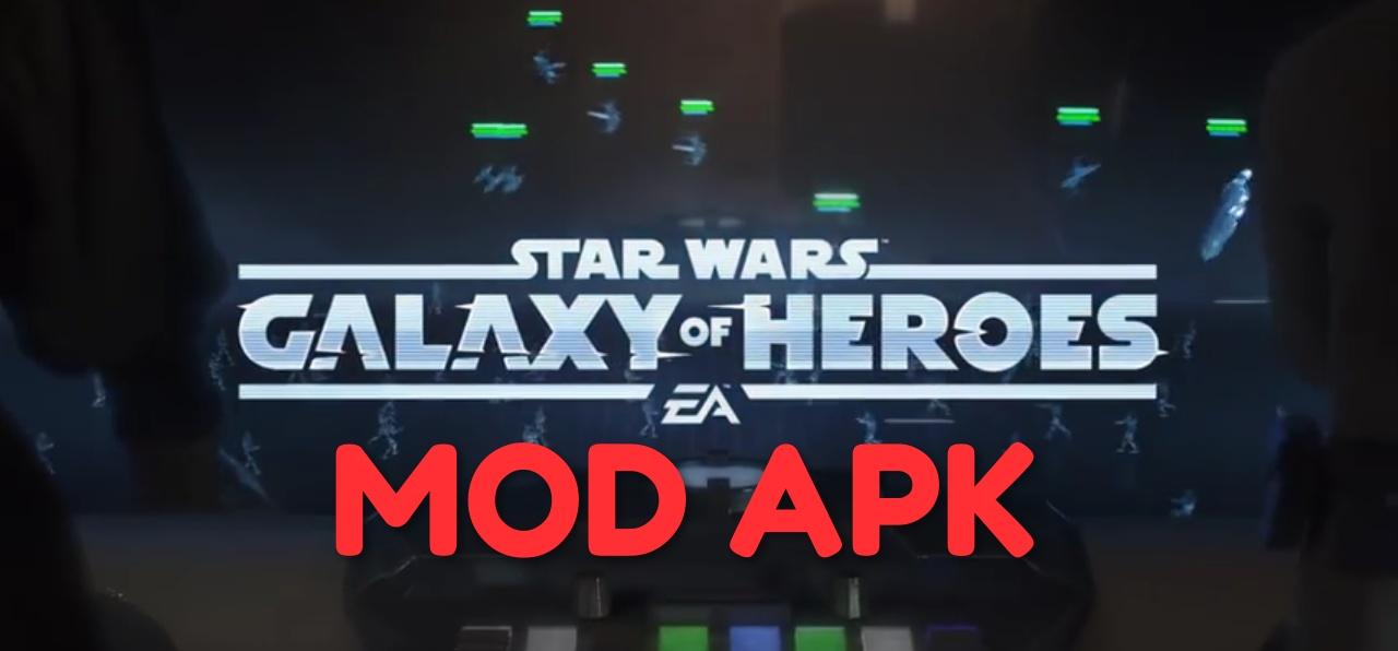 Star Wars: Galaxy Of Heroes MOD APK Hack Unlimited Crystals