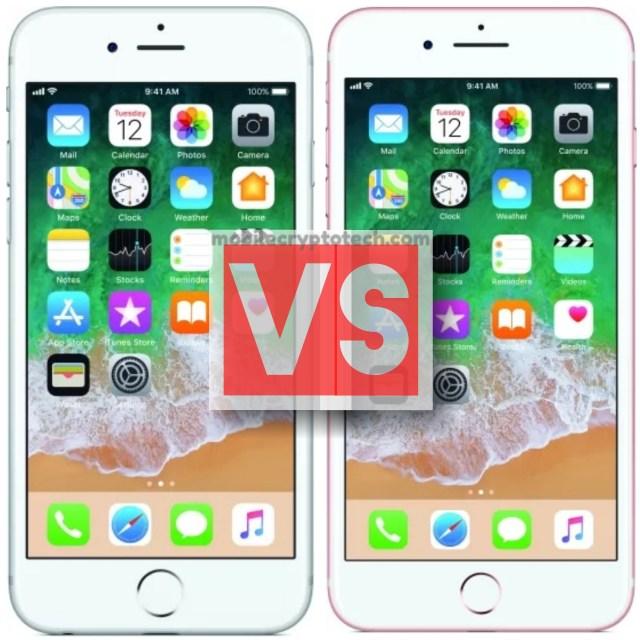 Apple iPhone 6S Plus Vs iPhone 7 Plus