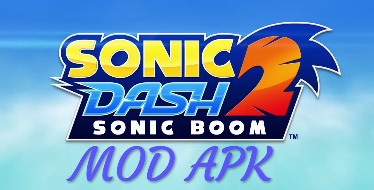 Sonic Dash 2: Sonic Boom MOD APK Hack Unlimited Red Rings, Red Coins
