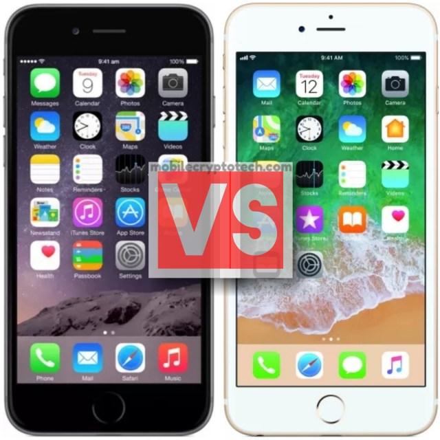 Apple iPhone 6 Plus Vs iPhone 6S Plus