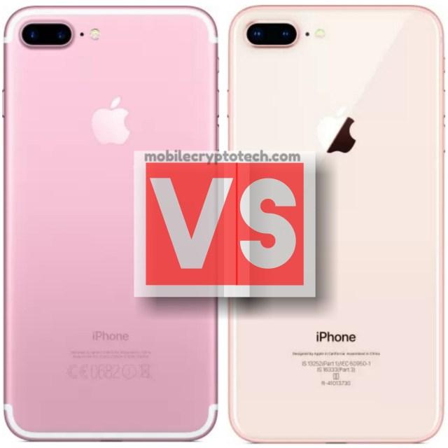 Apple iPhone 7 Plus Vs iPhone 8 Plus