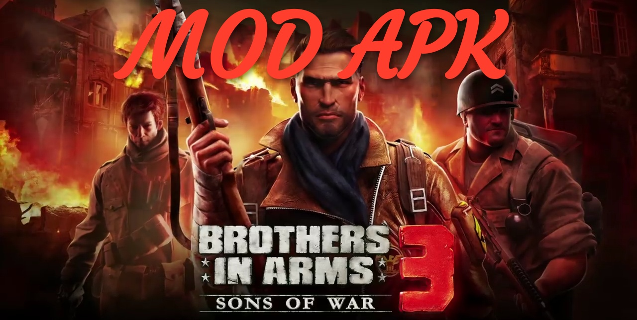 brothers in arms 3 apk unlimited money + data