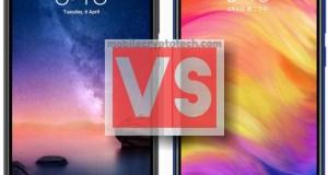 Xiaomi Redmi Note 6 Pro Vs Note 7
