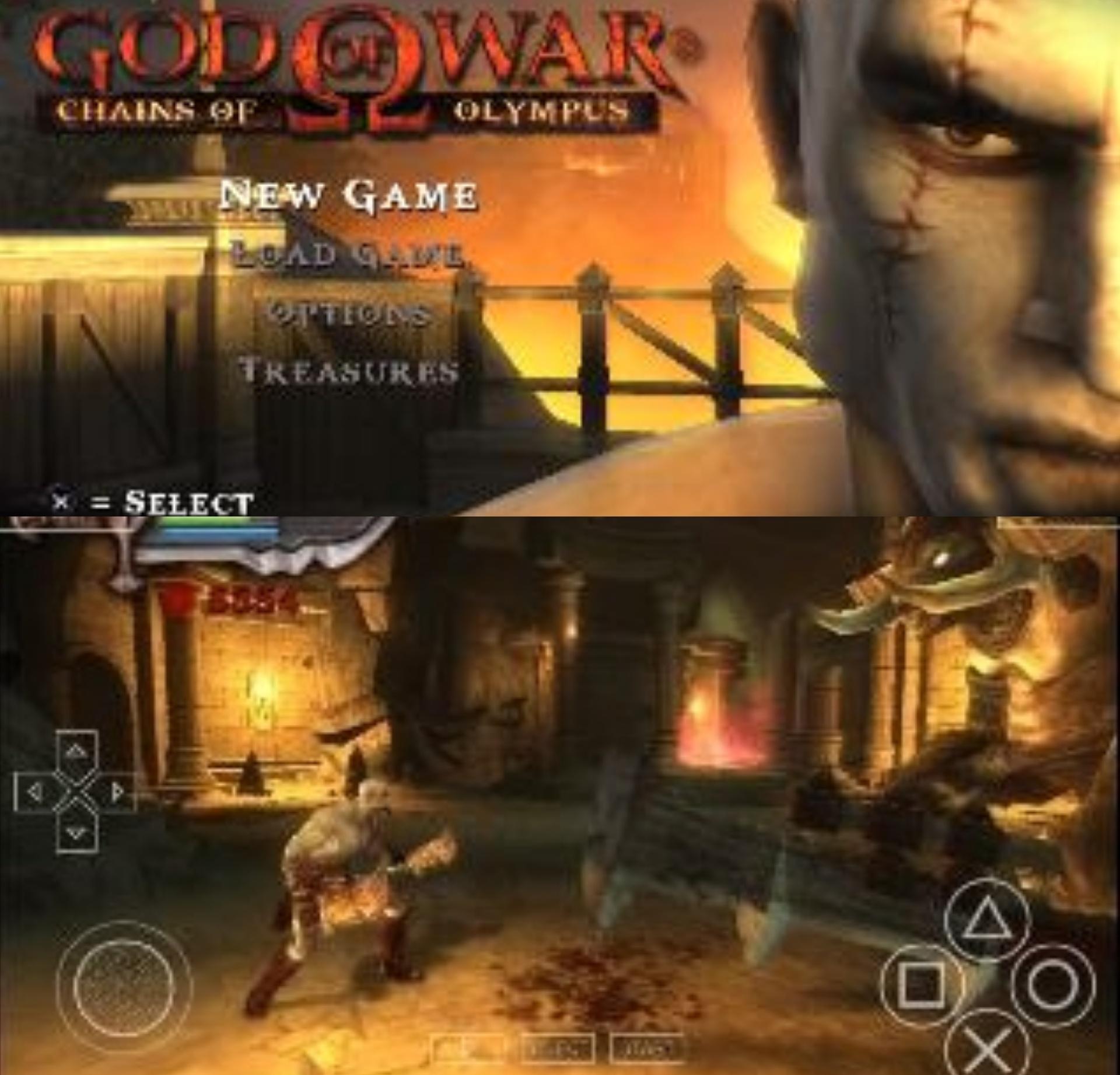 god of war iso file