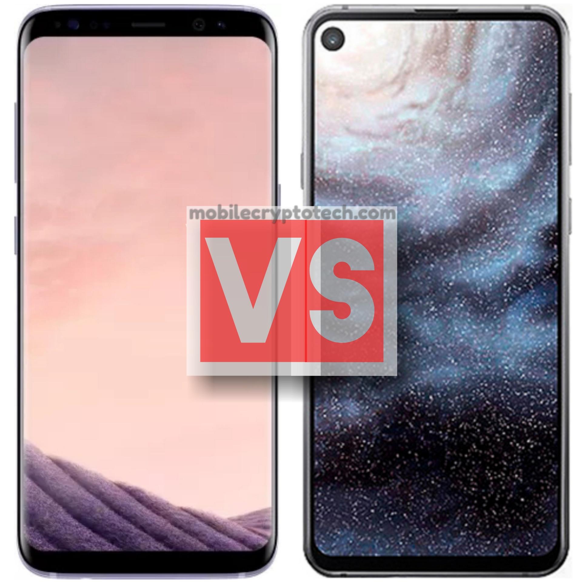 Samsung Galaxy S8 Plus Vs A8s