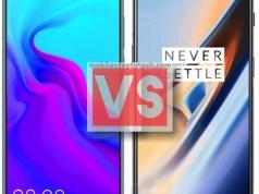 Huawei Nova 4 Vs OnePlus 6T