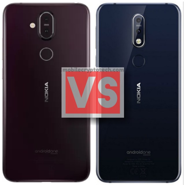 Nokia 8.1 Vs 7.1 Plus