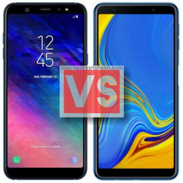 Samsung Galaxy A6 Plus Vs A7 2018