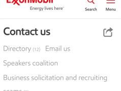 Exxon Mobil Customer Care Number