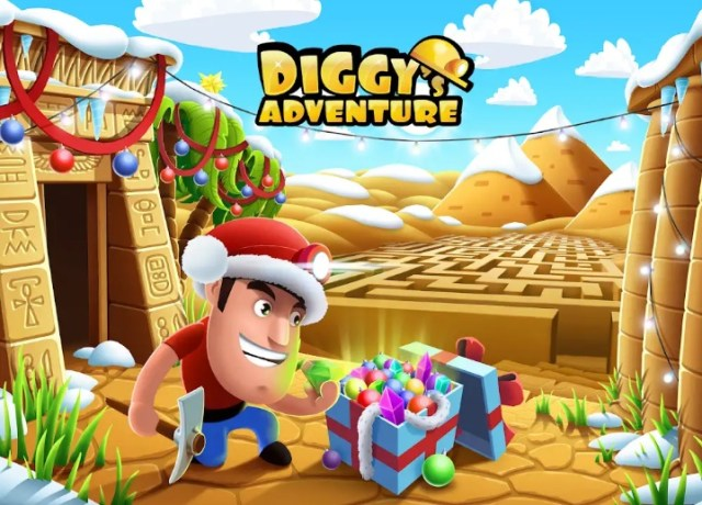 Diggy's Adventure MOD APK