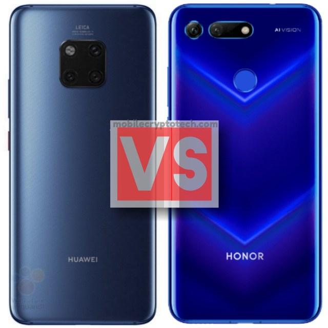 Huawei Mate 20 Pro Vs Honor View 20