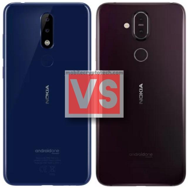 Nokia X5 Vs 8.1