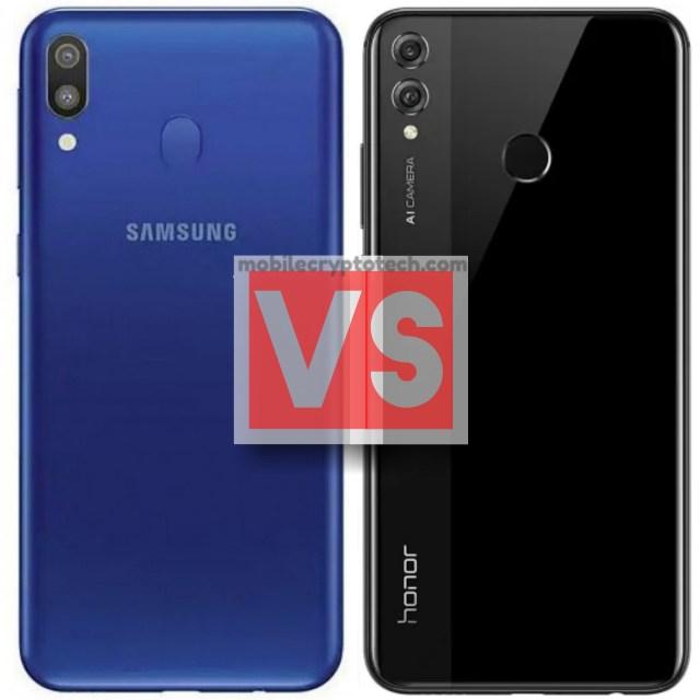 Samsung Galaxy M20 Vs Honor 8X