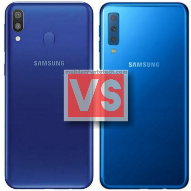 Samsung Galaxy M20 Vs M30