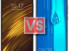 Xiaomi Pocophone F1 Vs Huawei Y9 2019