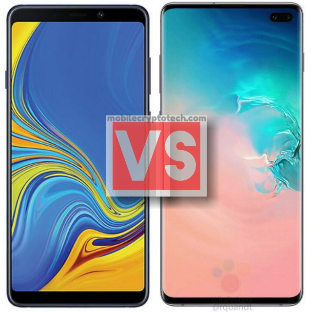 Samsung Galaxy A9 2018 Vs S10 Plus
