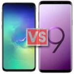 Samsung Galaxy S10E Vs S9 Plus