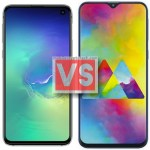 Samsung Galaxy S10E Vs M20