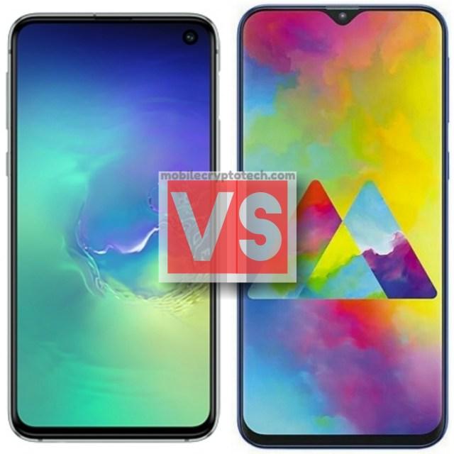 Samsung Galaxy S10E Vs M20