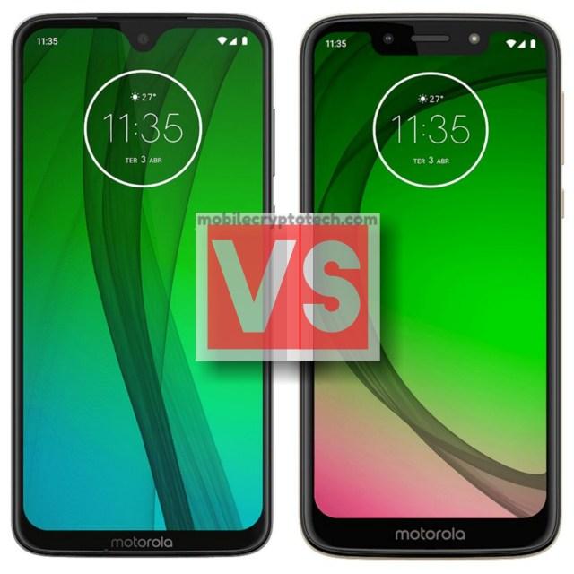 Motorola Moto G7 Vs G7 Play