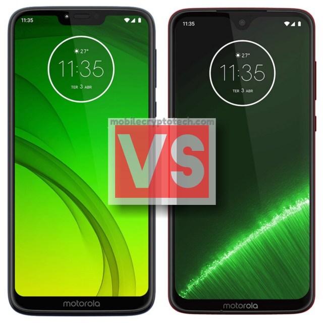 Motorola Moto G7 Power Vs G7 Plus