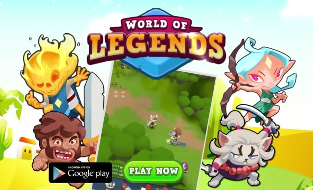 World of Legends MOD APK