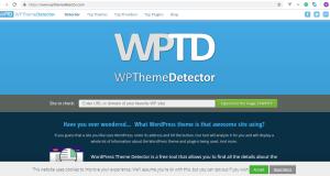 how to detect Wordpress theme