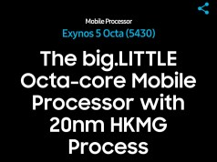 Samsung Exynos 5430 Octa