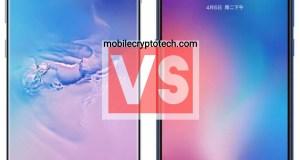 Samsung Galaxy S10 Plus Vs Xiaomi Mi 9