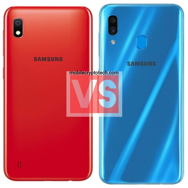 Samsung Galaxy A10 Vs A30