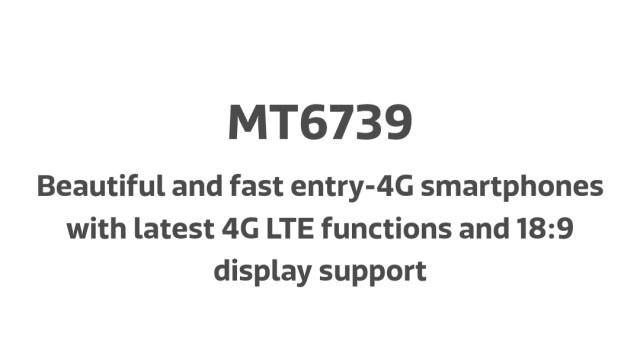 MediaTek MT6739