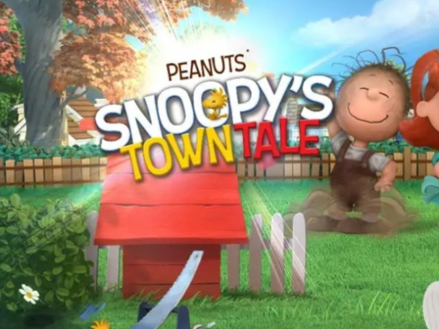 Snoopy's Town Tale MOD APK