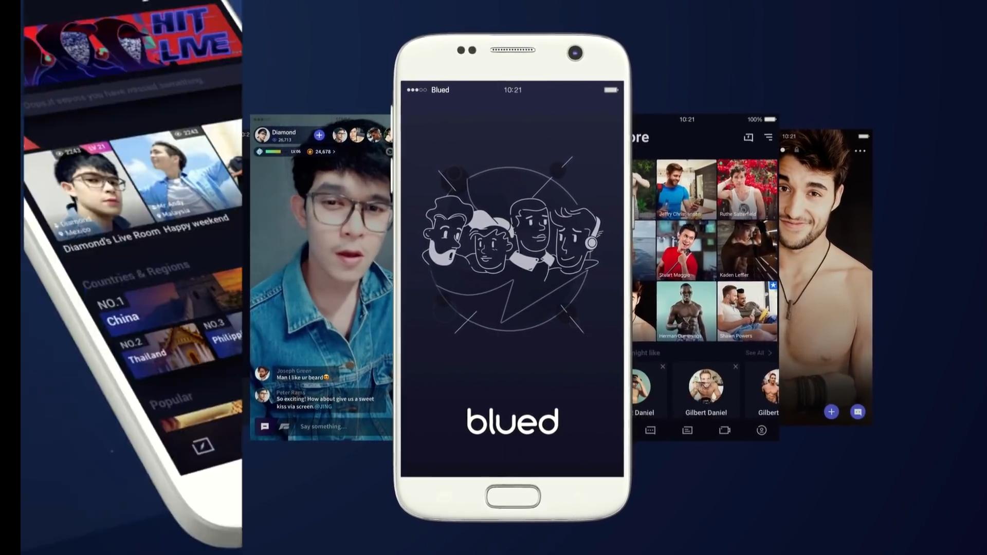 Blued Premium MOD APK Hack Latest Download