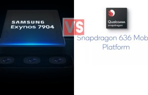 Samsung Exynos 7904 Vs Qualcomm Snapdragon 636
