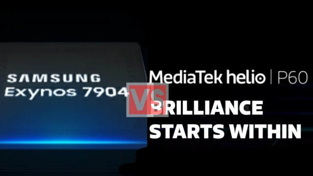 Samsung Exynos 7904 Vs MediaTek Helio P60