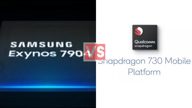 Samsung Exynos 7904 Vs Qualcomm Snapdragon 730