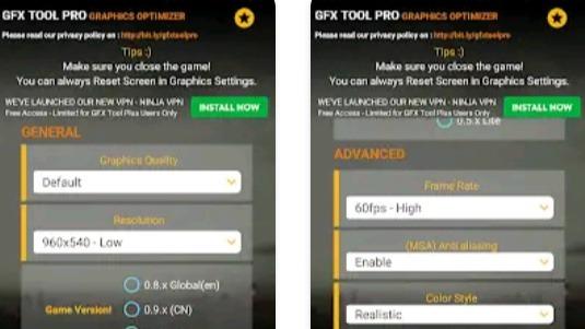 GFX Tool Pro Premium MOD APK