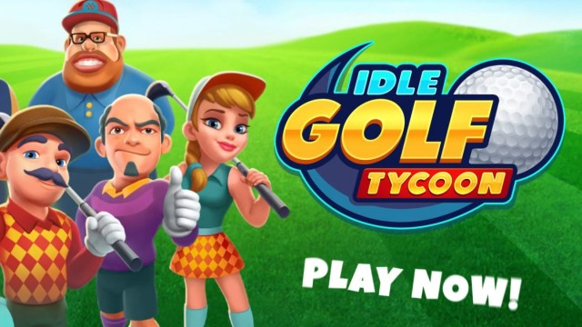 Idle Golf Tycoon MOD APK
