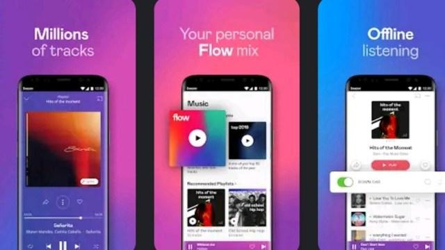 Deezer Music Player Premium MOD APK