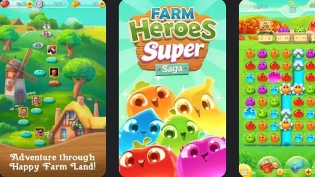Farm Heroes Super Saga MOD APK
