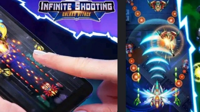 Infinity Shooting: Galaxy War MOD APK