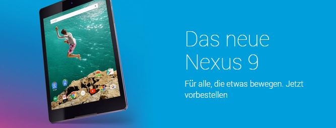 nexus 9 google play