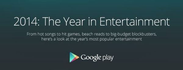 Google Play - End of Year Infographic - 2014 - header