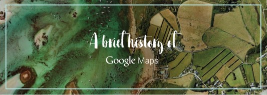 brief history of google maps