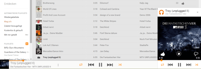 google play music browser
