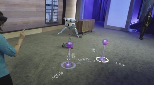 HoloLens Roboter Wegpunkte