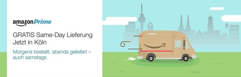amazon same day delivery lieferung
