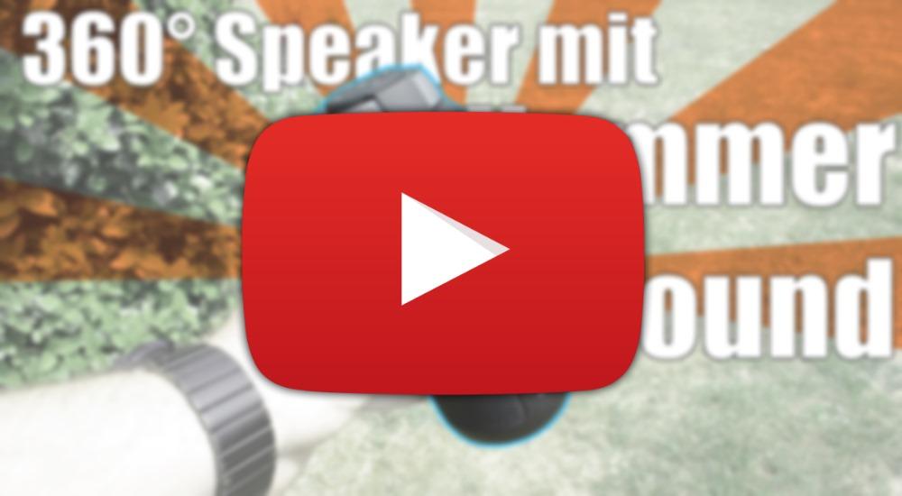 [Video] Ziemlich fetter 360° Speaker von Tronsmart
