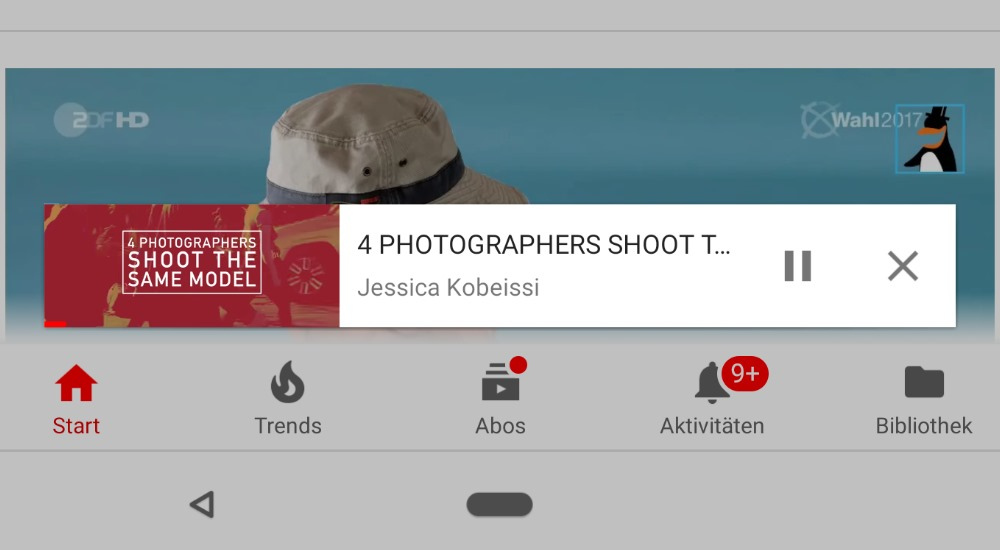 YouTube passt das picture-in-Picture an